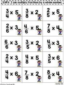 5th Grade Math Centers -Covers ALL 5th Grade Math Standards