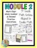 5th Grade Math Centers- Module 2 Eureka Math BUNDLE