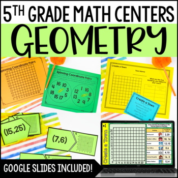 5th Grade Math Centers {Geometry}