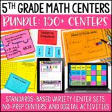 5th Grade Math Centers | 5th Grade Math Games