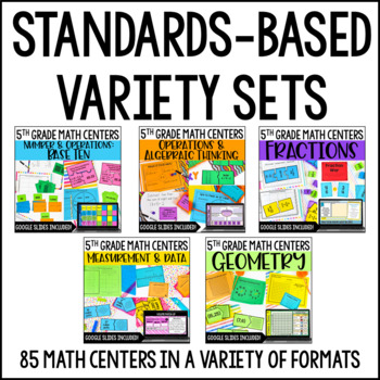 5th Grade Math Centers | 5th Grade Math Games