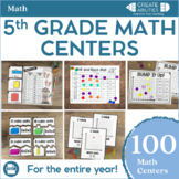 5th Grade Math Centers MEGA Bundle
