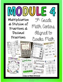 5th Grade Math Centers- Module 4 Eureka Math BUNDLE