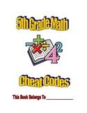 5th Grade Math Cheat Codes