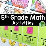 5th Grade Math Common Core Bundle, Growing
