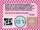 5th Grade Math Common Core Posters - Polka Dot Background
