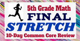 5th Grade Math Common Core Review: 10 days of Test Prep, N