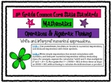 5th Grade Math Common Core Standards Posters *All Standards*