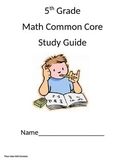5th Grade Math Common Core Study Guide