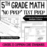 5th Grade Math Test Prep Helper Bundle {Common Core Aligned}