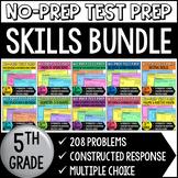 5th Grade Math Test Prep Helper Bundle {Common Core Aligned}