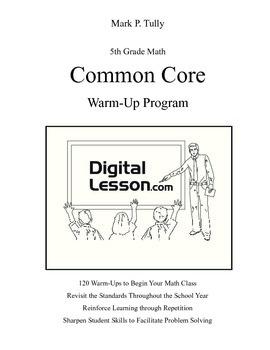 5th Grade Math Common Core Warm-Up Program
