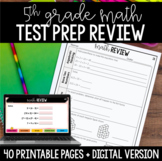 5th Grade Math Test Prep Review | Google Classroom Distance Learning