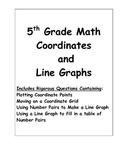 5th Grade Math Coordinates and Line Graphs