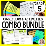5th Grade Math Curriculum and Activities Bundle