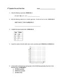 5th Grade Math Diagnostic or Summative Assessment/Test