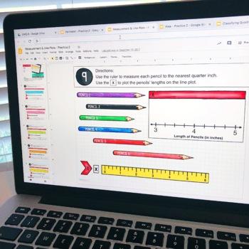 3rd Grade Math Centers - Digital Slides Google Classroom Activities
