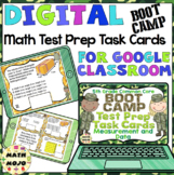 5th Grade Math Digital Task Cards: 5th Grade Boot Camp Test Prep (MD Standards)