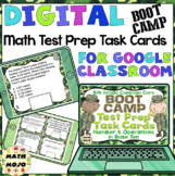 5th Grade Math Digital Task Cards: 5th Grade Boot Camp Test Prep (NBT Standards)