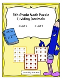 5th Grade Math - Dividing Decimals