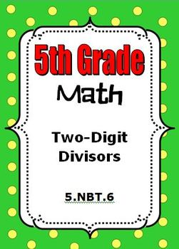 5th Grade Math - Division with 2-digit Divisors - 5.NBT.6