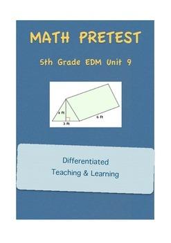 Everyday Math 5th Grade Unit 9 Pretest