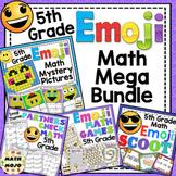5th Grade Math Emoji Themed Mega Bundle