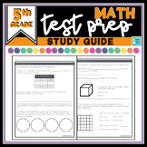 Math Test Prep Review   Study Guide - 5th Grade