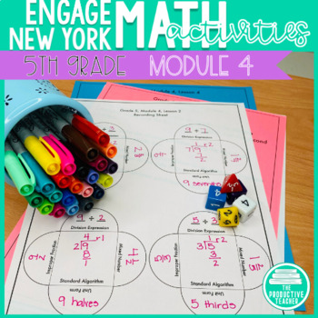 5th Grade Math Engage New York Aligned Activities: Module 4