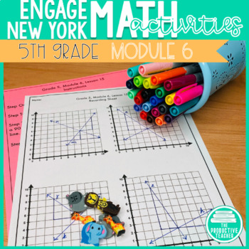 5th Grade Math Engage New York Aligned Activities: Module 6