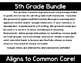 5th Grade Math Expressions Digital Lessons Bundle for Google Classroom