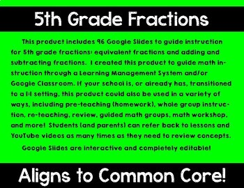 5th Grade Math Expressions Unit 1 Digital Lessons for Google Classroom