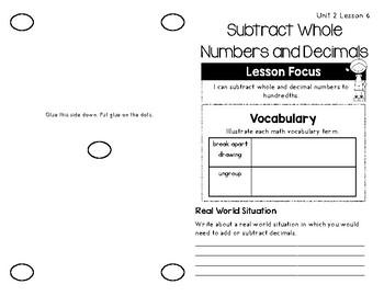 5th Grade Math Expressions Unit 2 Brochures