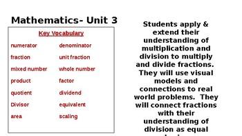 5th Grade Math Expressions Unit 3