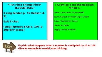 5th Grade Math Expressions Unit 4