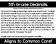5th Grade Math Expressions Unit 4 Digital Task Cards for Google Classroom