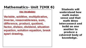 5th Grade Math Expressions Unit 6