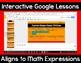 5th Grade Math Expressions Unit 6 Digital Lessons for Google Classroom