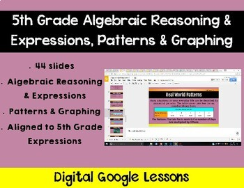 5th Grade Math Expressions Unit 7 Digital Lessons for Google Classroom