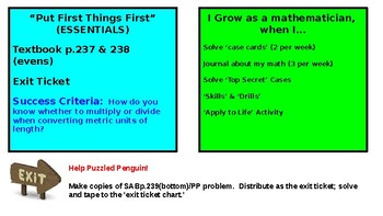 5th Grade Math Expressions Unit 8