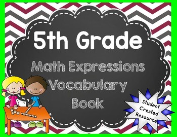 5th Grade Math Expressions Vocabulary