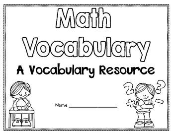 5th Grade Math Expressions Vocabulary