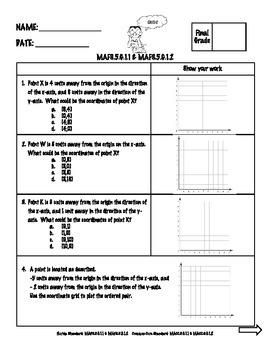 5th Grade Math FSA Assessments Geometry Bundle