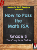 5th FSA Math Test Prep with Videos | Perfect for DISTANCE