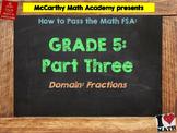 5th Grade Math FSA Test Prep - Part 3 - FREE Videos
