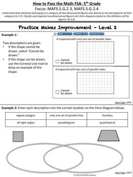 5th Grade Math FSA Test Prep - Part 5 - FREE Videos