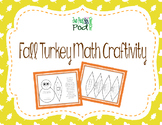5th Grade Math Fall Turkey Craftivity - Order of Operations & Decimals