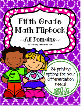 5th Grade Math Flipbook - CCSS Aligned Test Prep Review