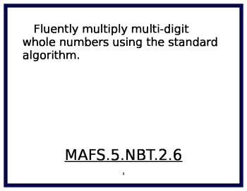 5th Grade Math Florida Standards