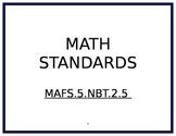 5th Grade Math Florida Standards